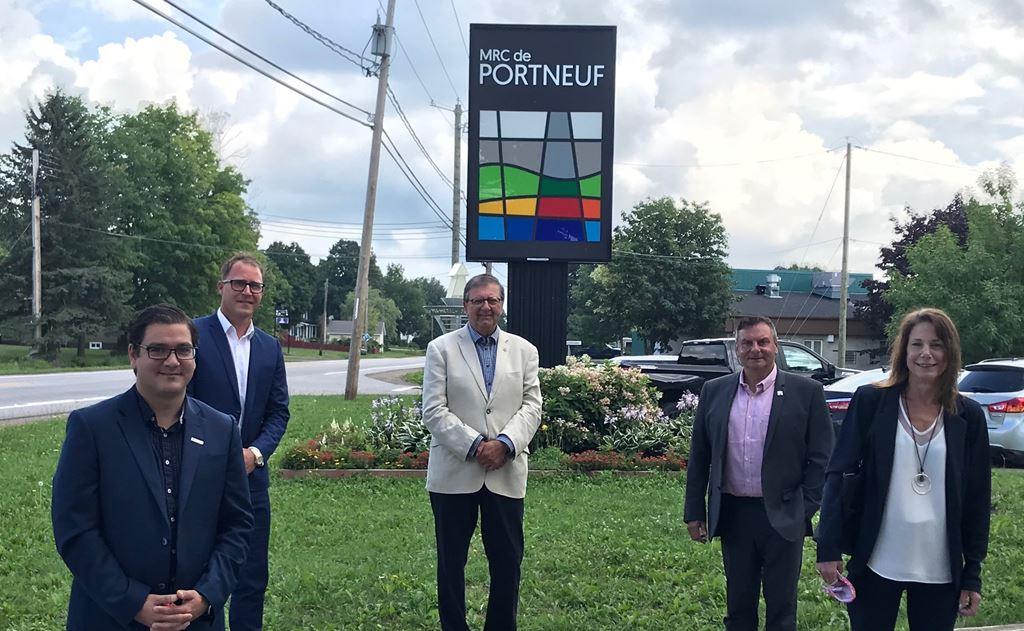 La MRC de Portneuf lance une campagne de financement participatif pour soutenir les commerces locaux et les organismes de première ligne du territoire